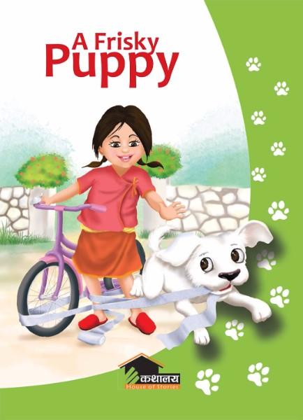 a frisky puppy